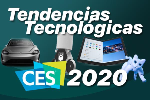 Resumen de tendencias tecnológicas del CES 2020 de Las Vegas